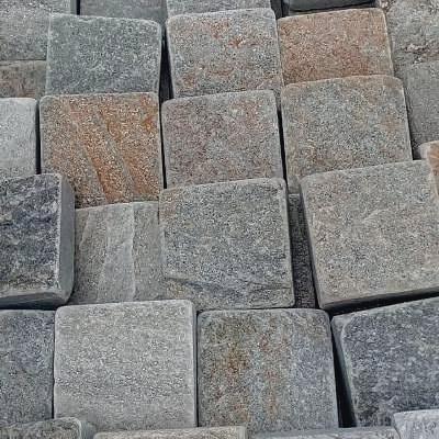 Брусчатка 100x100 из природного камня